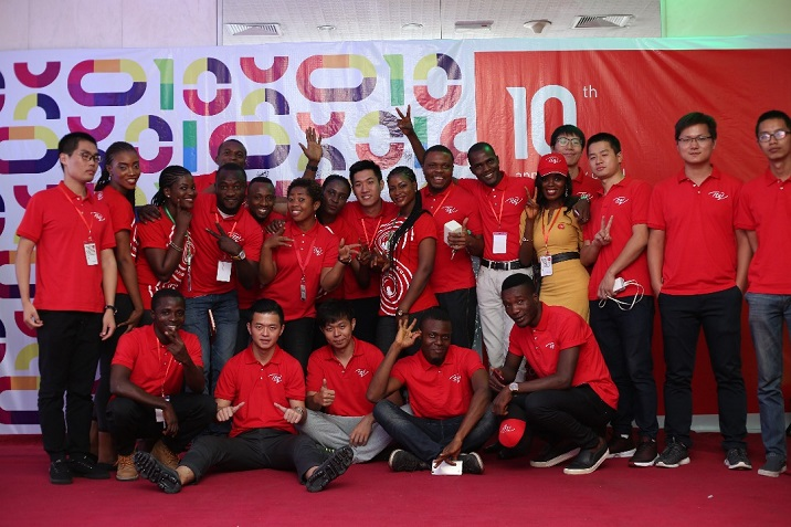 itel 10th year anniversary group photo