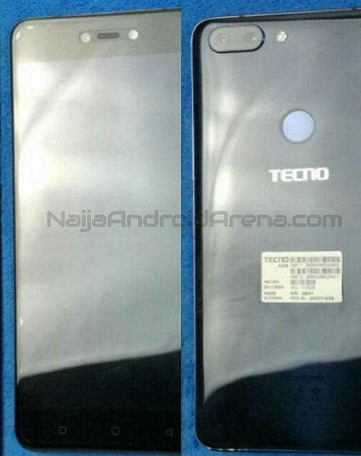 tecno phantom front and back