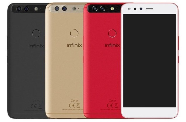 Infinix Zero 5 colors