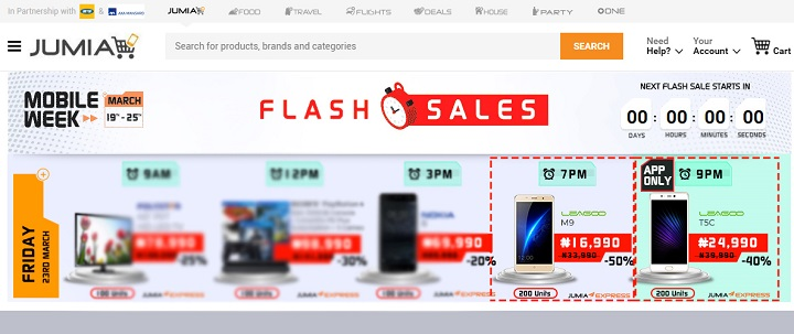 leagoo M9 and T5c flash sale