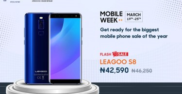 leagoo s8 flash sale