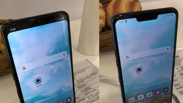 LG G7 will have a notch, but you can choose not to use it