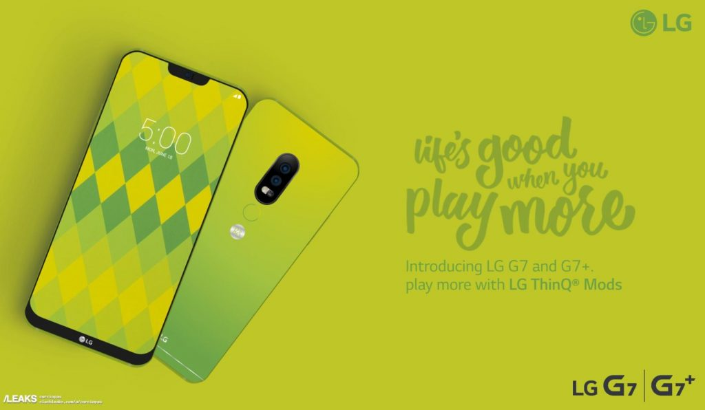 LG G7 detailed specifications and renders leaked online