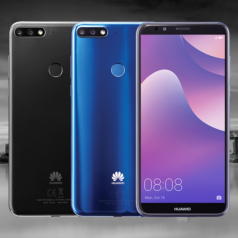 Image result for Huawei Y7 Prime 2018 Vs Infinix Hot S3.