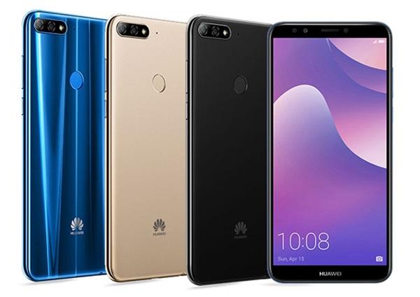 Huawei Y7 Prime 2018 colors