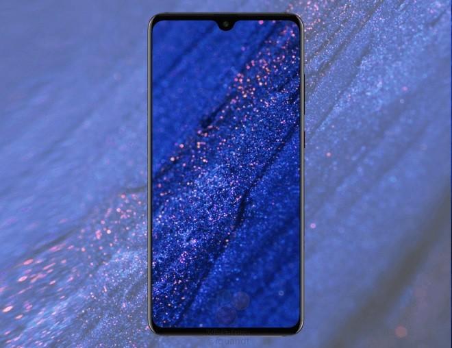 Huawei Mate 20 Leaked Render