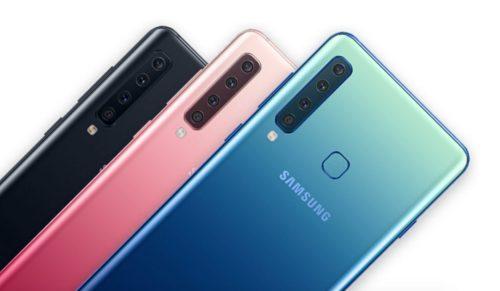 Samsung Galaxy A9 (2018) Color Variants