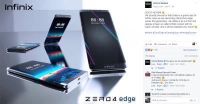 infinix zero 4 edge coming soon