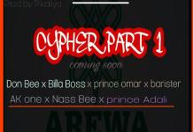 Don Bee Cypher Part 1 Ft Billah Boss x Prince omar x barister x AK one x Nass Bee x Prince Adali mp3 download