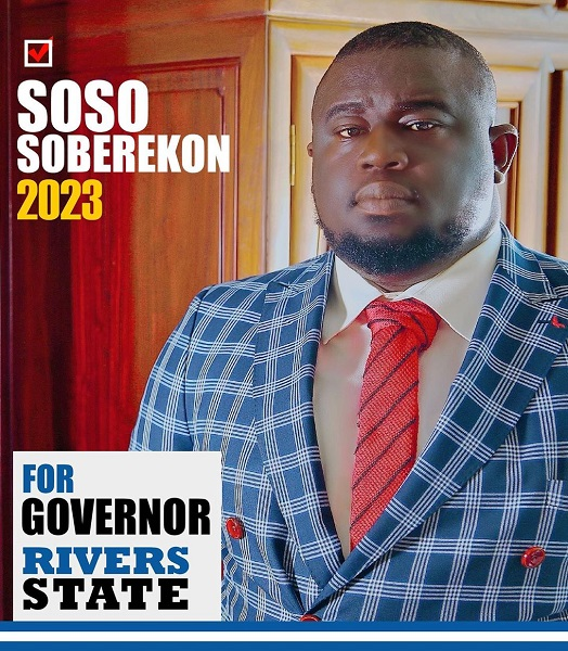 Music Executive Soso Soberekon Run For Rivers State Governorship
