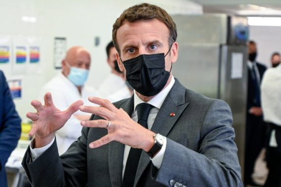 President Macron Attempted To Return The Slap Before His Security Intervened