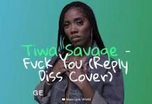 Tiwa Savage Fvck You Reply Diss Cover mp3 download