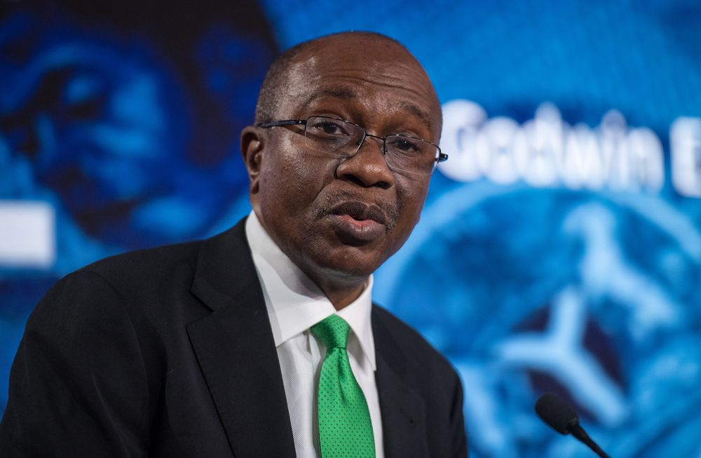 Governor of the Central Bank of Nigeria, Godwin Emefiele