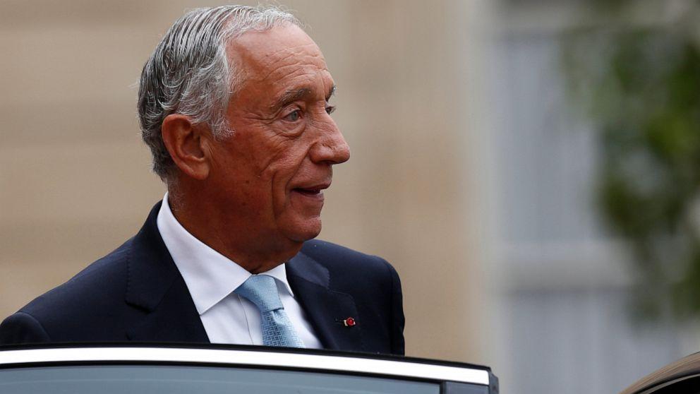 Marcelo Rebelo de Sousa, the President of Portugal