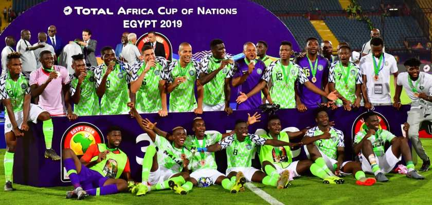 Nigeria Super Eagles AFCON 2019 Bronze
