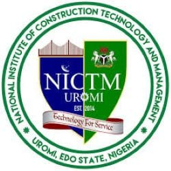 National Institute Of Construction Technology And Management, Uromi, Edo State