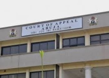 Judiciary Court Of Appeal, Abuja