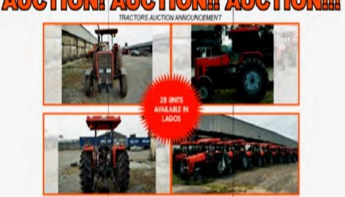 CR Limited tractor Auction