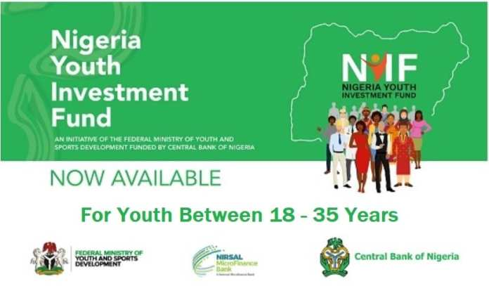 CBN Nigeria Youth Investment Fund NYIF Loan