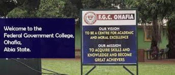Federal Government College, Ohafia, Abia State
