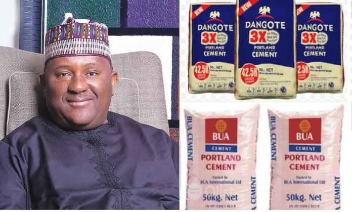 cement prices Nigeria