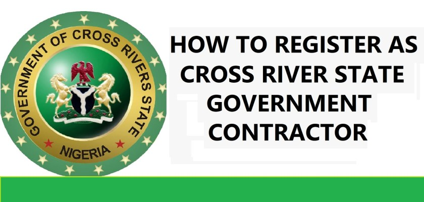 Cross River State Government Contractor Registration