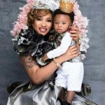 tonto dikeh and son