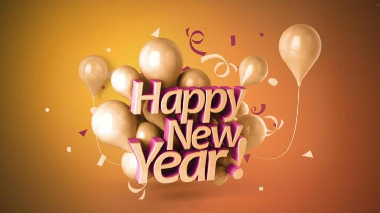 Happy New Year, Our Dear Blog Readers!