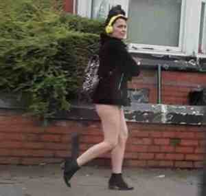 Woman's Hot Pants Confuse Police Who Think She's Walking Unclad In England