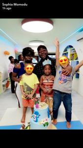 Davido And Sophia Momodu Celebrate Their Daughter's Birthday In Her School (Pics)