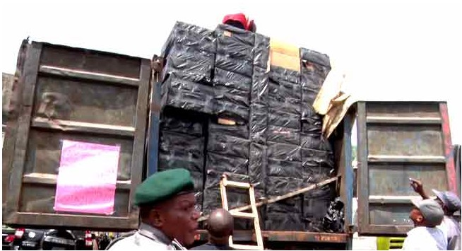 Trailer Load Of Tramadol And Other Drugs Seized By Customs Officials (Photos)
