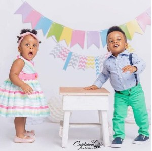 PSquare's Paul Okoye Celebrates His Twins' First Birthday With Lovely Photos