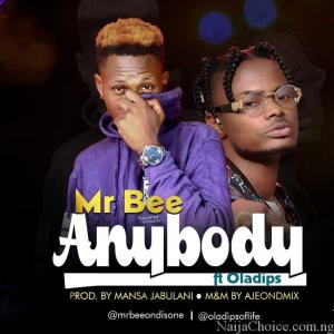 DOWNLOAD MP3 Mr Bee ft. Ola Dips – Anybody (Prod. Mansa Jabulani)