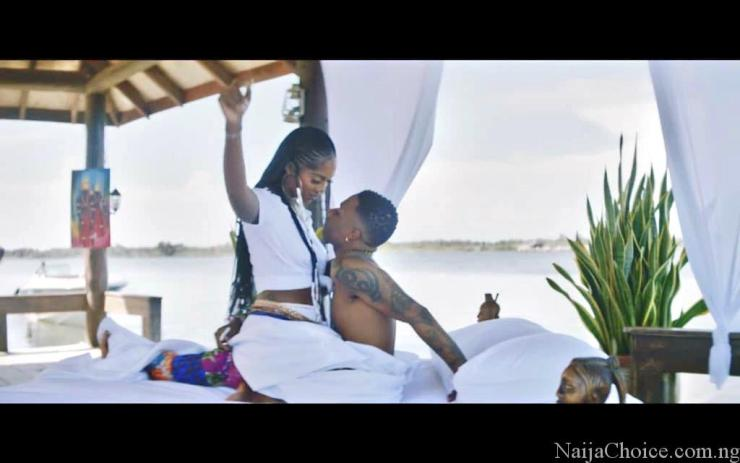 S.T.E.W! Nigerians React As Wizkid and Tiwa Savage Get Steamy & Romantic In New Video