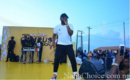 University, Poly Students Surprised Falz During Show In Abeokuta