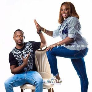 Ushbebe Celebrates His pretty wife birthday with Loveup Photoshoot