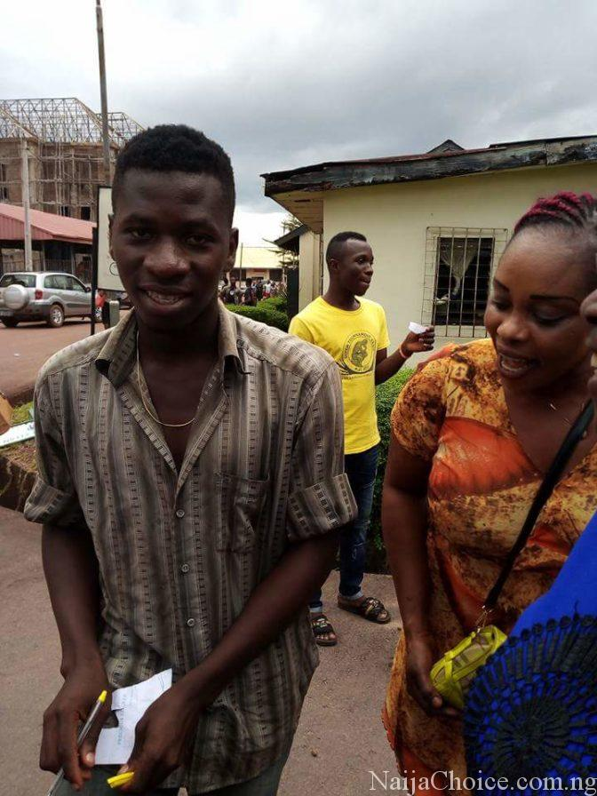 Young Nigerian Man Thrills Ladies With His 'Customised Vehicle' In Enugu (Photos)