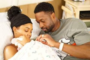 Hollywood Actress, Gabrielle Union & Dwyane Wade Welcome Baby Via Surrogacy (Photos)