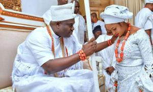 'I Was Never Single, I Had A Spiritual Wife Before Marrying Naomi' - Ooni Of Ife Opens Up
