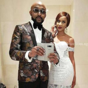 Love In The Air: Banky W And Wife, Adesua Mark Their Wedding Anniversary With Charming Words