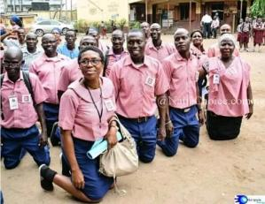 Old Students Association Celebrates 30 Years Reunion In School Uniform (Photos)