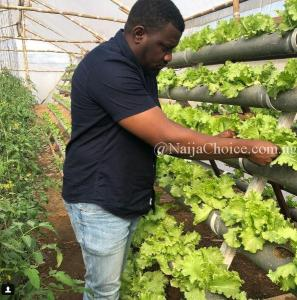 Popular Actor, John Dumelo Shows Off His Farm, Reveals His Love For Agriculture (Photos)