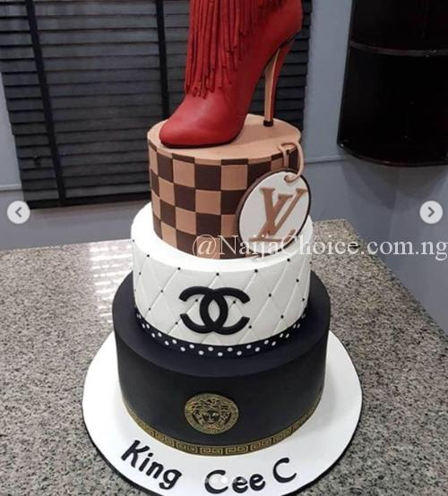 Shoes, Camera, Macbook, Cakes & More: The Amazing Gifts Cee-C Got On Her Birthday (Photos)
