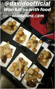 Davido Entertains Fans With Snacks And Chicken At His Concert In Eko Atlantic