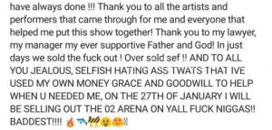 Davido Recounts Challenges Days Before His Concert