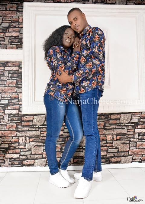 Nigerian Police Couple Stun In Their Lovely Pre-wedding Photos