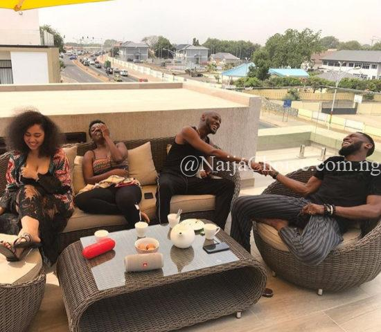 2face Idibia and Dbanj's New Family Friendship Is Golden!