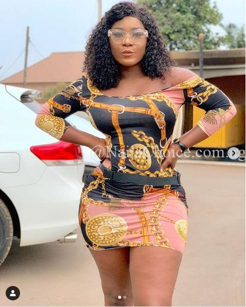 'Bombshell: See The Banging Figure Of Nollywood Actress, Destiny Etiko