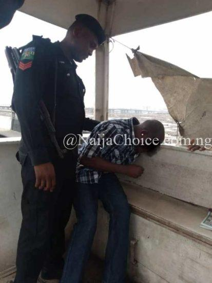 Police Rescue Man Trying To Jump Into Third Mainland Bridge Lagoon