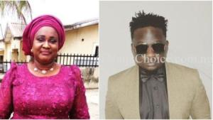 Wande Coal Shares Rare Picture Of His Mother